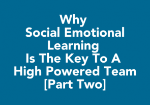 Why Social Emotional Learning is the Key to a High Powered Team [Part Two]