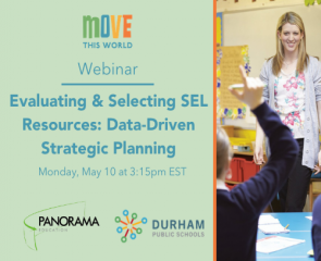 Webinar: Evaluating & Selecting SEL Resources: Data-Driven Strategic Planning