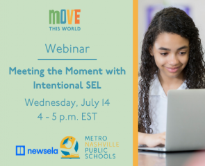 Webinar: Meeting the Moment with Intentional SEL featuring Newsela and MNPS